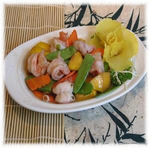 Shrimp Vegetables