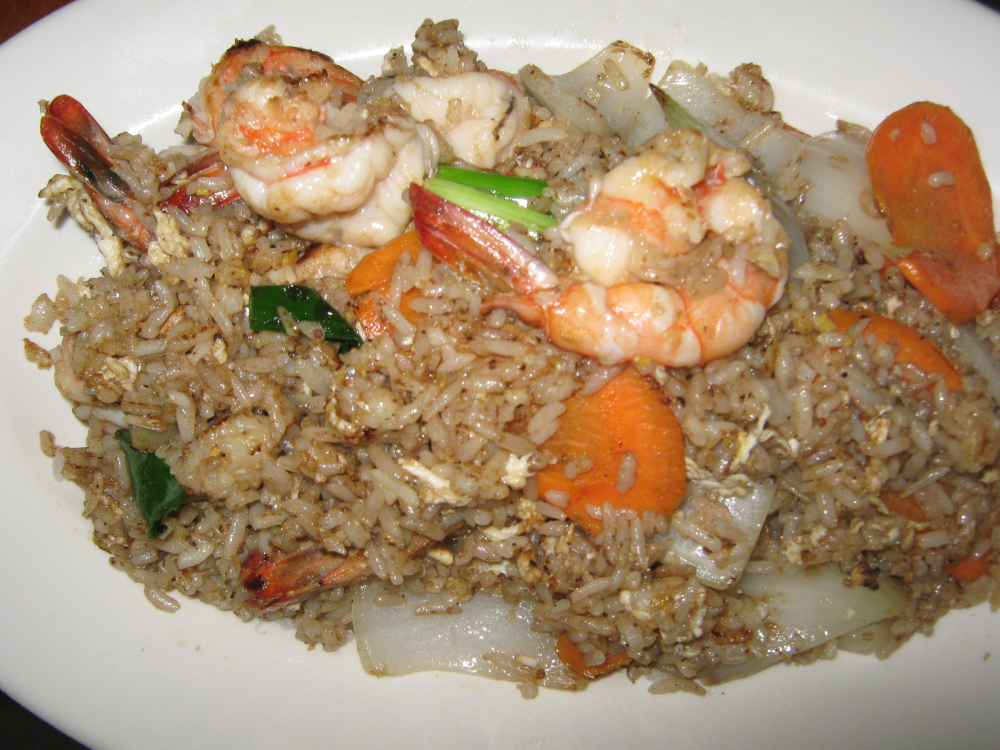 SHRIMP THAI  FRIED RICE