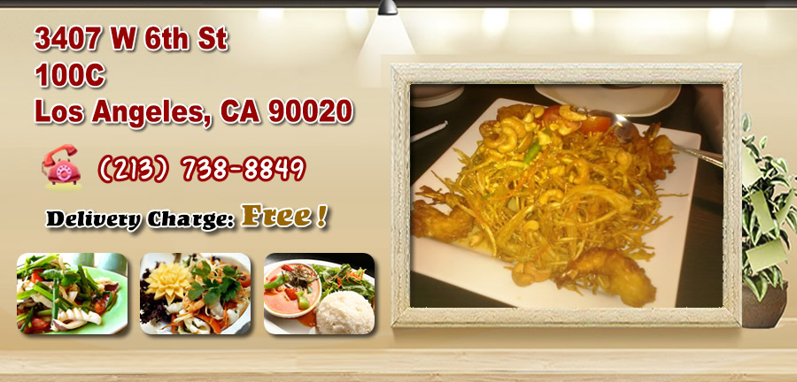 Thai Food Delivery Los Angeles Ca