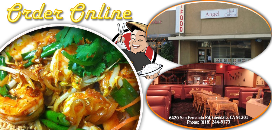 Angel thai cuisine order online glendale ca 91201 thai for Angel thai cuisine glendale