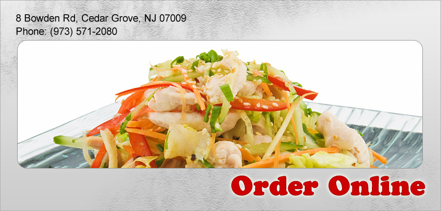 New Kitchen Order Online Cedar Grove NJ 07009 Chinese