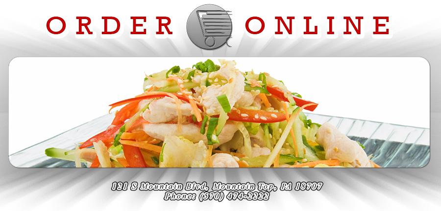 Online Order Food Menu