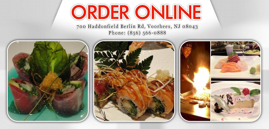 Akira japanese restaurant order online voorhees nj for Akira japanese cuisine