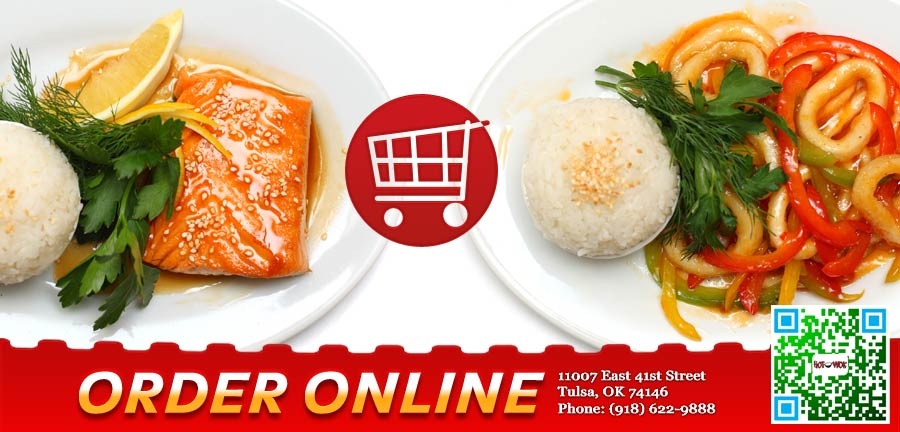 Hot wok order online tulsa ok 74146 chinese for Asian cuisine tulsa ok