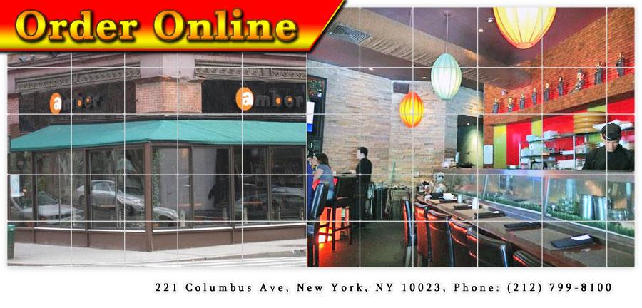 Amber japanese restaurant new york ny 10023 order online for Amber asian cuisine