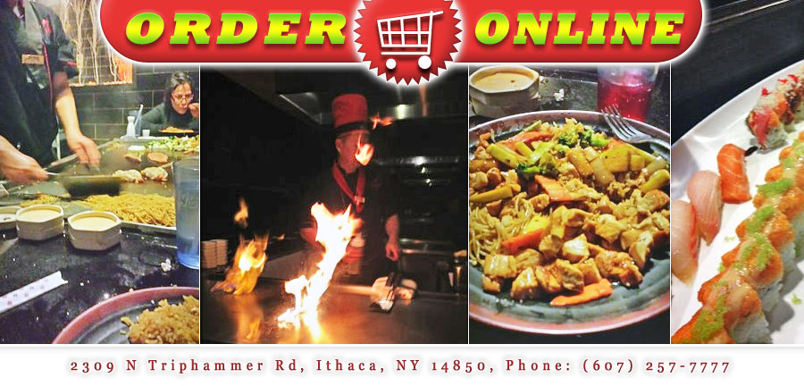 Sumo japanese hibachi sushi restaurant order online for Asian cuisine ithaca