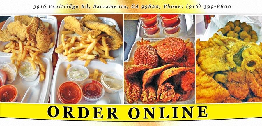 Jj 39 s fish chicken order online sacramento ca 95820 for Jjs fish and chicken