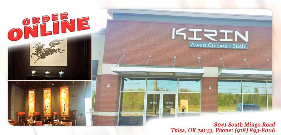 Kirin asian cuisine sushi order online tulsa ok for Asian cuisine tulsa ok